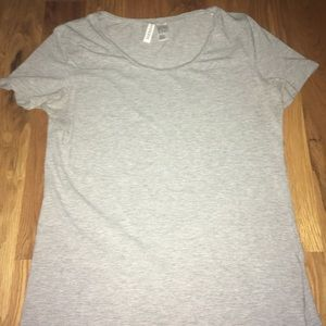 Solid Gray T Shirt